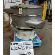 "Used 48"" Stainless Sweco Single Deck Vibratory Screener Sifter Separator US48"