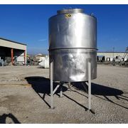 Used 1200 Gallon Stainless Steel Tank