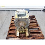 "Used 8"" Barr & Murphy LTD Stainless Steel Rotary Valve"