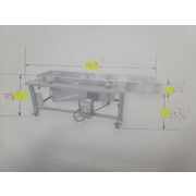 "Used FMC FoodTech Vibratory Pan Feeder 18""W X 7' Long - VF1806-1/2X84"