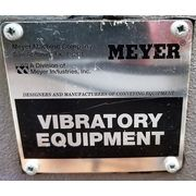 "Used Stainless Steel Meyer Vibratory Vibrating Pan Feeder 16""W X 4' EDF-46-1652"
