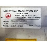 "Unused 5""Ø INDUSTRIAL MAGNETICS, INC. Pneumatic Line Bullet Magnet"