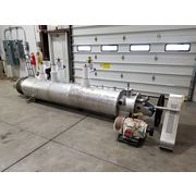 Used Stainless Steel Bepex Solidaire Paddle Dryer Cooler SJS-16-10