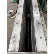 "Used 3"" dia. Stainless Steel Screw Feeder"