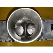 "Used 4"" dia. Vortex Stainless Steel Diverter Valve - DAC50AT"
