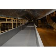 "Used 24"" wide x 80' long FMC FoodTech Model BL Vibrating Vibratory Conveyor"
