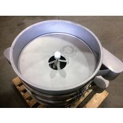 "New 30"" Two Deck Round Vibratory Separator Screener Sifter Stainless Steel"