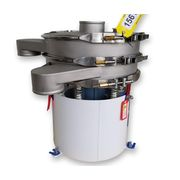 "New 24"" Single Deck Round Vibratory Separator Screener Sifter Stainless Steel"