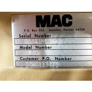 "Used 10"" x 10"" MAC Multi-Duty Rotary Airlock Valve MD40"
