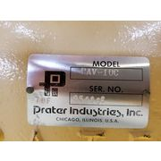 "10"" Diameter PRATER INDUSTRIES Rotary Airlock Feeder Model PAV-10C [Unused!]"