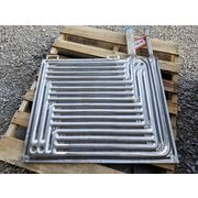 "29"" x 34"" Stainless Immersion Platecoil Heat Exchanger Panels- Lot of 4- Unused"