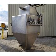 Stainless Steel Bulk Bag Supersack Unloader 140 Cubic Foot Hopper