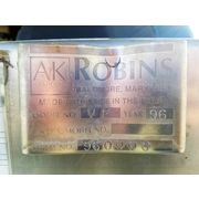 Used AK Robbins Stainless Steel Screener - Model VF
