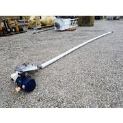 "Used 3.5"" dia. X 25' long Flexicon Flexible Screw Auger Conveyor"
