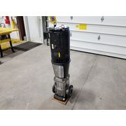 Used 339 GPM Stainless Grundfos Vertical Inline Pump  20 HP A96426510-P10935380