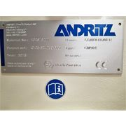 Unused Andritz Stainless Steel Continuous Paddle mixer Conditioner CM901