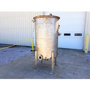 500 gallon Stainless Steel Tank with Pipe Coils