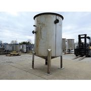 585 Gallon Stainless Steel Tank with Pipe Coils