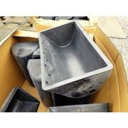 "Bucket Elevator Buckets size - 24"" X 13"" AA Nycast Cast Nylon material [PARTS]"