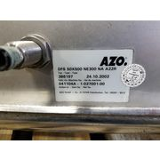 Used AZO Vibrating Bottom Bin w/ Dosing Stainless Screw Feeder Package