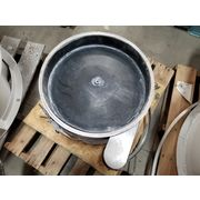 "Used 18"" Sweco Single Deck Stainless Steel Vibratory Screener Sifter - LS18S33"
