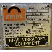 "Used 5"" wide x 20"" Long Eriez HI-VI Vibrating Pan Feeder - 15A"