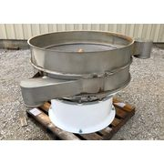 "Used 48"" Sweco Separator Screener Sifter, single deck, stainless steel"