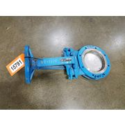 "Used 8"" DeZurik Kinife Gate Valve SS - Fig. 800"