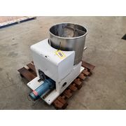 "Used 2"" dia. Vibra screw Stainless Steel Volumetric Feeder"