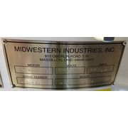 "NEW! 60"" dia. Midwestern Industries Two Deck Gyra-Vib Separator Screener MR60S"