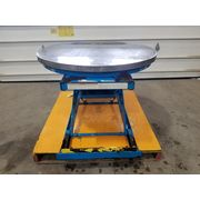 "Used 43"" dia. 4500 lb Bishamon EZ Loader Pallet Lift - EZ-45"