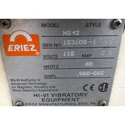 "Eriez Manufacturing Hi-Vi Vibratory Feeder Model HS-42 18"" Wide x 8' Long"