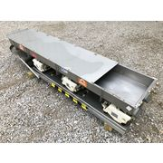 "Eriez HI-VI Stainless Steel Vibratory Feeder Model HS-42 18"" Wide x 8' Long"