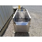 Used 180 Gallon Stainless Steel Liquid Storage Tank