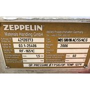 "Used Zeppelin 14"" dia. Stainless Steel Rotary Airlock Valve MDS 500"