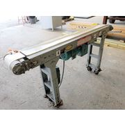 "Used 8"" X 5.5' long Hytrol Packaging Belt Conveyor"