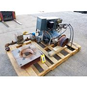 Used Webster Cyclonetic JB Series Forced Draft Burner System - Natural Gas