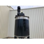 Used 400 Gallon Stainless Steel jacketed mix tank with scraped agitator