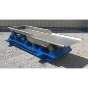 "Used 30""w X 10' long Stainless Kinergy Corp. Vibrating Shaker Conveyor KDC-30-HD"