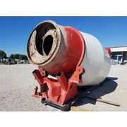 Used 10 cubic yard stationary mixer