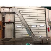 Used Stainless Steel Sanitary Cleated Inclined Belt Conveyor Elevator