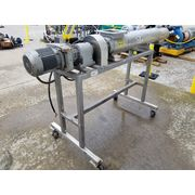 "Used Stainless Ter Braak Dual 4"" dia. Screw Auger Votator Scraped Heat Exchanger"