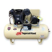 Used 10 HP IR Ingersoll-Rand Model 2545E10 120 GAL Air Compressor 35 CFM
