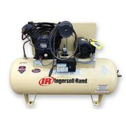 Used 10 HP IR Ingersoll-Rand Reciprocating 120 GAL Air Compressor 35 CFM