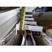 "Used 8"" W x 18' Long Incline Drag Conveyor"