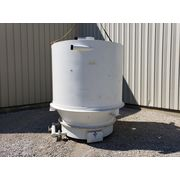 Used 175 cu/ft KISE Air Pad Bin Bottom Receiving Hopper with Fluidizing Bottom