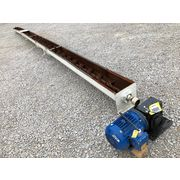 "Used 6"" dia. x 28' Long Screw Auger Paddle mixer Conveyor"