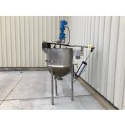 Used Lee 60 Gallon Stainless Steel Jacketed Scraped Surface Kettle Mix Tank