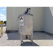 Used 400 Gallon Pressure rated Stainless Steel Mix Tank