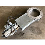 "Used 14"" Juadt Dosiertechnik Stainless steel Slide Knife Gate Valve"